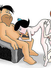 Flintstones comic with femdom pictures at freekilomovies.com