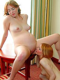 Girl eats out pregnant pussy pictures at freekiloclips.com