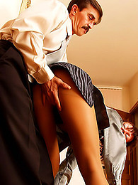 He fucks satin business hottie pictures at find-best-panties.com