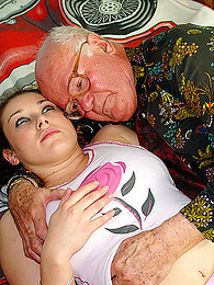 Grandpa bangs a total cutie pictures at kilovideos.com