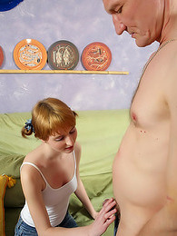 Old man and pigtailed teen pictures at dailyadult.info