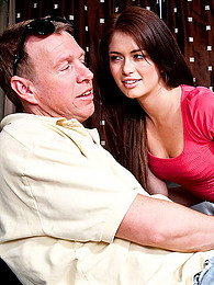 Ashlyn Rae and older dude pictures at freekilomovies.com
