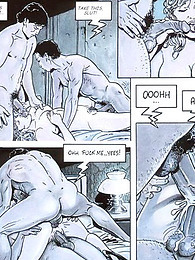 Lengthy comic with exciting sex pictures