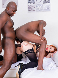 Hot Curvy MILF Isabella Lui Enjoys Interracial With A DP pictures at freekilosex.com