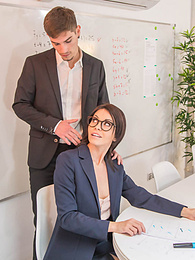 Sasha Colibri, MILF and Teacher Assfucked in the Classroom pictures at kilogirls.com