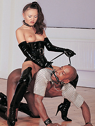 Venus of Desire Plays with a Big Toy and a Bigger Dick... pictures at freekilomovies.com