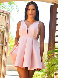 Cute Pink Dress pictures at kilovideos.com