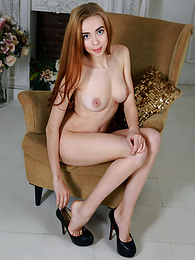A flawless doll like her has many secrets to show and she starts with letting a few clothes slip off for the camera pictures at find-best-mature.com