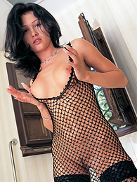 Stunning Brunette Monic Plays With Her Cunt, Teach me Tiger! pictures at freekiloporn.com