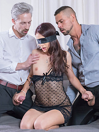 Open Kate Rich Enjoys A DP Threesome for her Cuckold Husband pictures