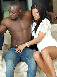 MILF Soraya Rico Enjoys with Anal in her First Interracial pictures