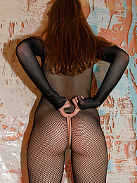 Jia Lissa In Mesh Tards pictures