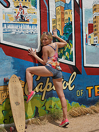 Ember Volland For Landyachtz pictures
