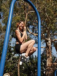 April Grantham Monkeyin Aroun pictures