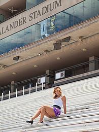 Cynthia Monte Texas Football pictures