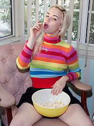 Lauren WK Popcorn Party pictures