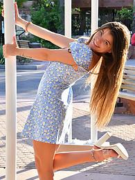 Scarlett II - baby blue dress pictures