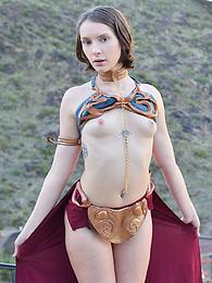 Natalie - princess leia theme pictures
