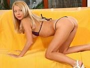 Naked Blonde Teen